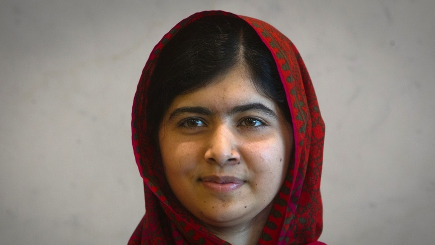 August 18, 2014 - FILE photo of Pakistani schoolgirl activist Malala Yousafzai at the United Nations in New York.