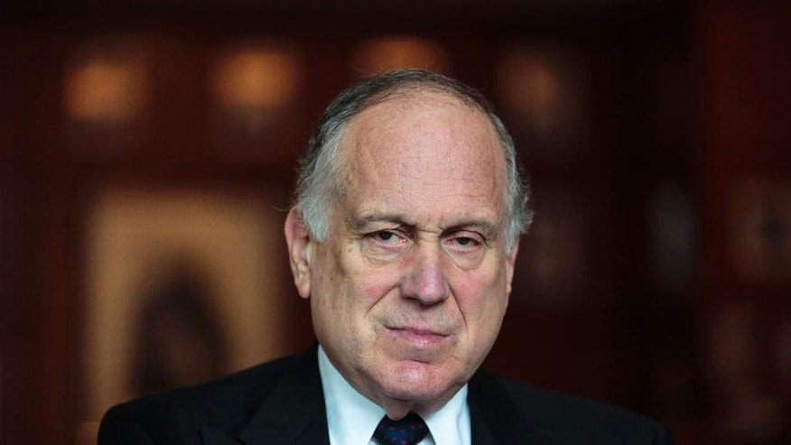 "Ronald Lauder, President of the World Jewish Congress speaks during an interview with The Associated Press  in Berlin, Saturday, Sept. 13, 2014. Lauder is warning that European voters risk giving their countries a bad name by electing far-right politicians and says he is worried that Islamic extremists are trying to ""use all means"" to stir up hatred. Berlin on Sunday will host a  rally against anti-Semitism, which comes after tensions over the Gaza conflict spilled over into demonstrations in Europe that saw anti-Jewish slogans and violence.  (AP Photo/Markus Schreiber)"