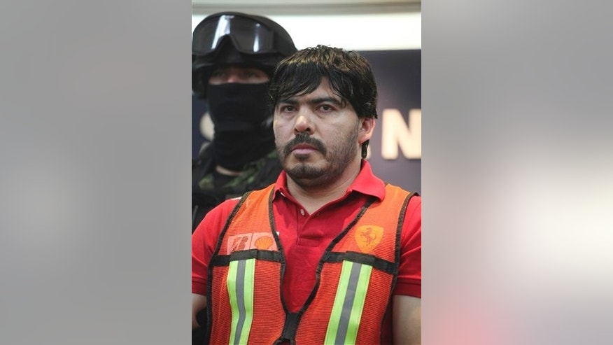 Martin Beltran Coronel, alias El Aguila, in a May 2011 file photo.