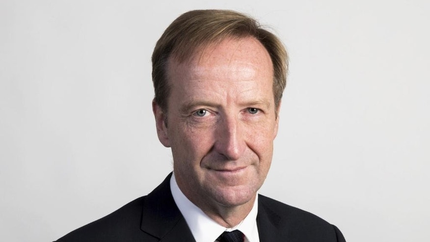 This undated hand out photo provided by the British Foreign Office, shows the new head of Britain's Secret Intelligence Service, Alex Younger. The British government announced on Friday, Oct. 3, 2014 that career intelligence officer Alex Younger is the agency's new chief. Younger, who previously oversaw MI6 counterterrorism operations, replaces John Sawers next month. (AP Photo)