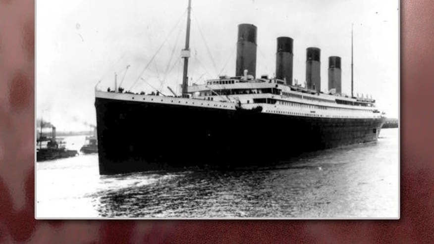 FILE photo from April 10, 1912 - The Titanic leaves Southampton, England.