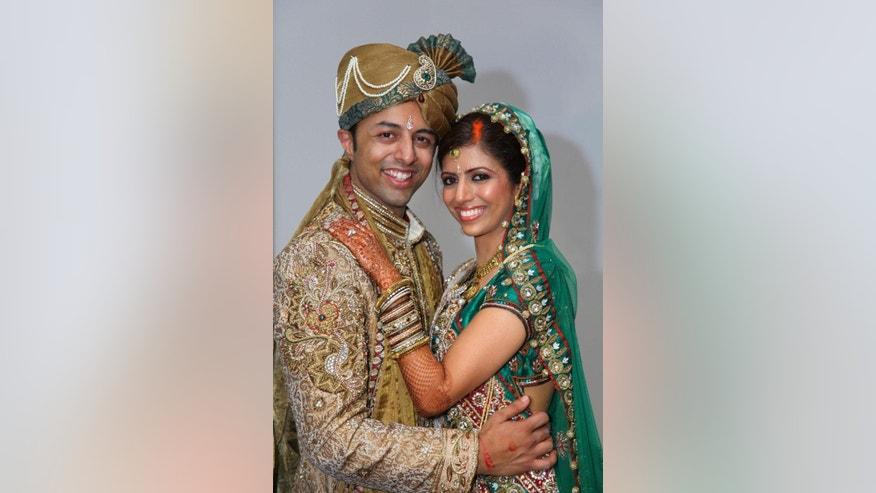 This undated file photo issued on Monday Oct. 6, 2014 by the Bristol Evening Post shows Shrien Dewani and Anni Dewani. The trial of British businessman Shrien Dewani, who is accused of ordering the killing of his wife while they were on honeymoon in Cape Town in 2010, starts Monday Oct. 6, 2014, after a lengthy legal process to extradite him from the U.K. to South Africa. (AP Photo/Bristol Evening Post via PA)