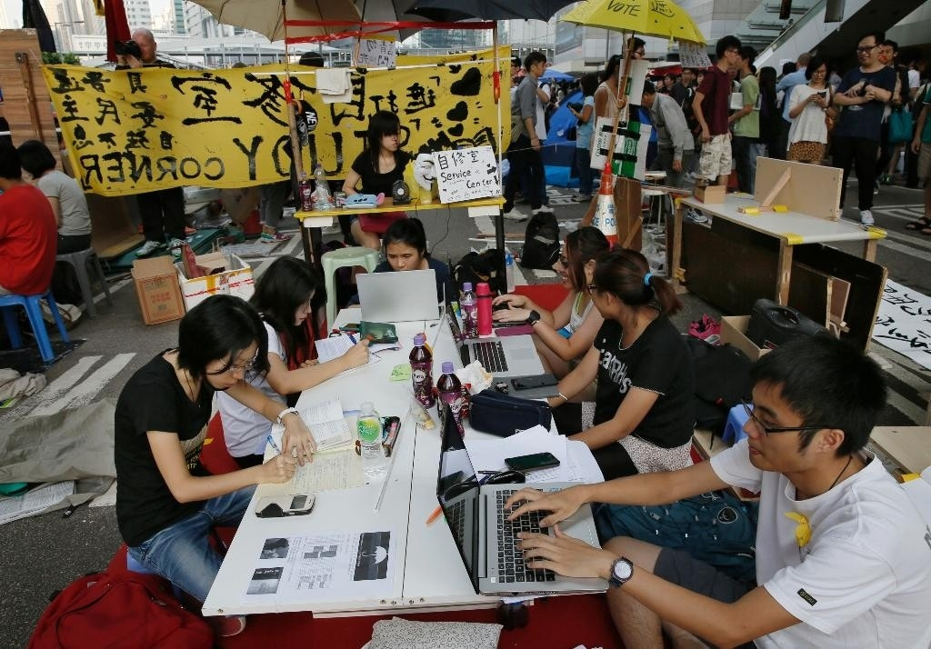 Chinese newspaper blames US for Hong Kong protests