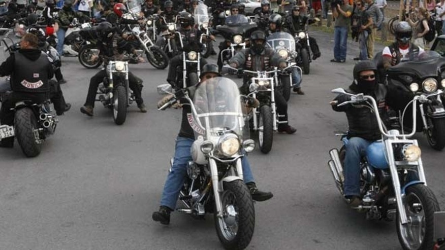 The No Surrender motorcycle club.