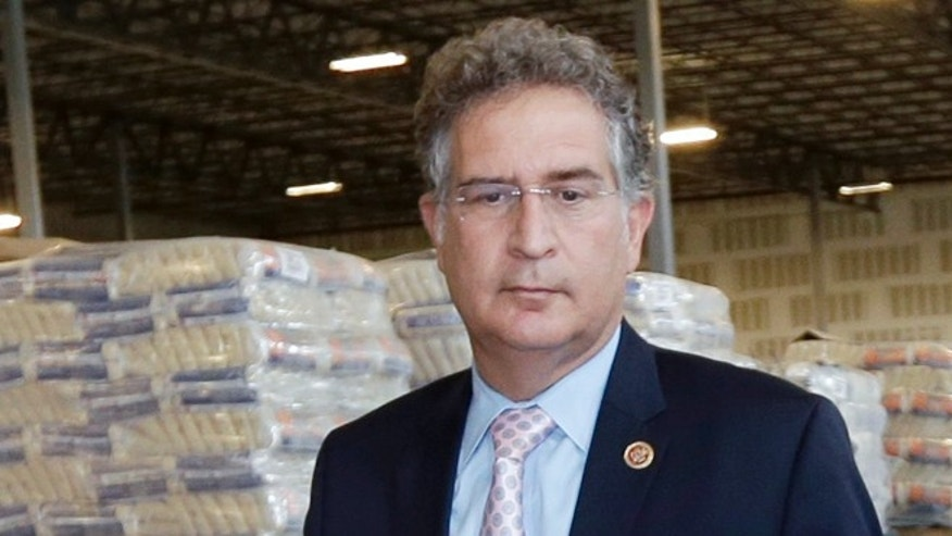 Rep. Joe Garcia, D-Fla.,on Oct. 9, 2014. Garcia rode into Washington two years ago on an anti-corruption platform against scandal-plagued former U.S. Rep. David Rivera in one of the nation's most hotly contested elections. But now Garcia's former chief of staff has been convicted on election-tampering charges, and his campaign faces allegations similar to those that dogged Rivera. (AP Photo/Alan Diaz, File)