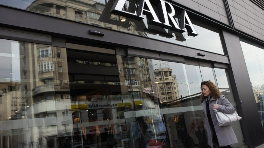 BUCHAREST, ROMANIA - MARCH 08:  A woman enters a Zara clothing store on March 8, 2013 in Bucharest, Romania. Both Romania and Bulgaria have been members of the European Union since 2007 and restrictions on their citizens' right to work within the EU are scheduled to end by the conclusion of this year. However, Germany's interior minister announced recently that he would veto the two countries' entry into the Schengen Agreement, which would not affect labour rights but would prevent passport-free travel.  (Photo by Sean Gallup/Getty Images)