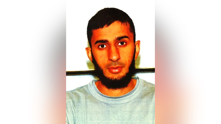 This undated photo issued by the Metropolitan Police shows Hamza Nawaz. British brothers  30-year-old Mohommod Nawaz and 24-year-old Hamza Nawaz have been jailed for conspiring to attend a terrorist training camp in Syria. On Wednesday Nov. 26, 2014, Mohommod Nawaz described as the instigator of the plan, was sentenced to four-and-a-half years in prison and his younger brother Hamza Nawaz was sentenced to three years in prison. (AP Photo/Metropolitan Police)
