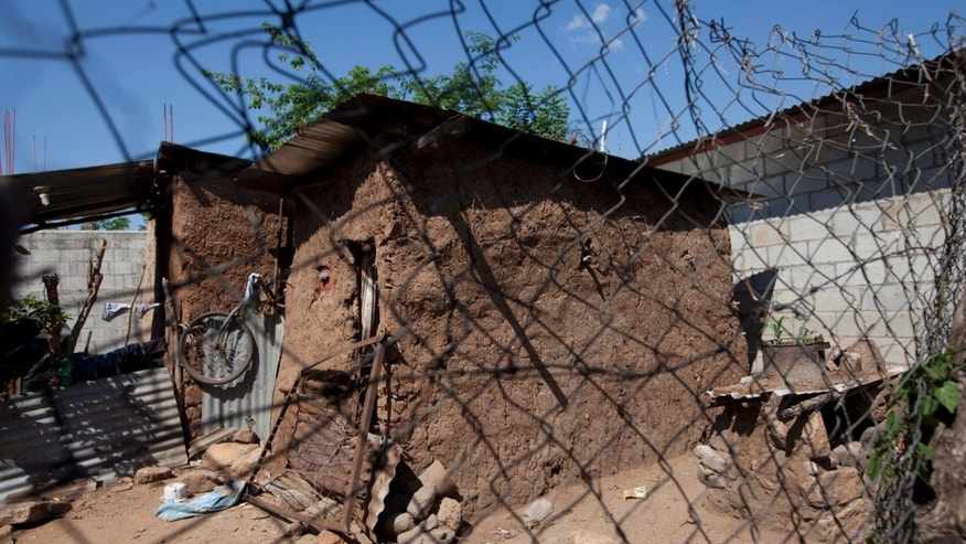 May 27, 2014:  The home of late Jose Miguel Ramirez, who was found dumped by a stream with a bullet hole above his left eye, stands abandoned in Zacapa, Guatemala.