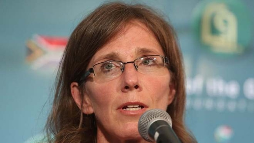 Dec. 9, 2014: Yolande Korkie, during a press conference in Johannesburg, said that she forgives those who are responsible for her husband's death.