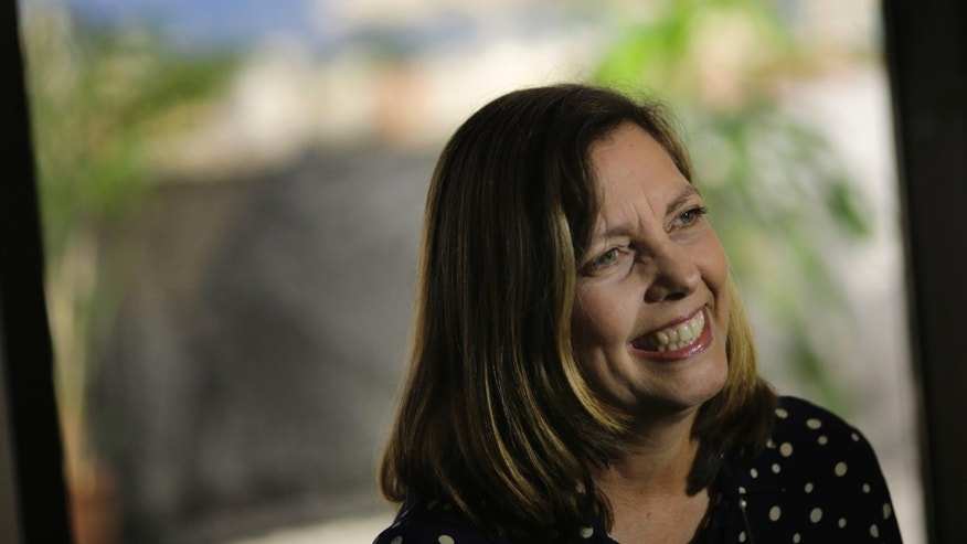 Dec. 22, 2014 - Cuba's head of North American affairs, Josefina Vidal, speaks to The AP in Havana, Cuba. Cuba says its open to all of President Obama's moves to improve relations between the 2 countries.