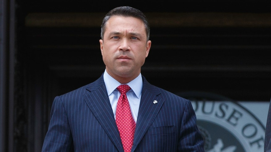 Rep. Michael Grimm, R-N.Y., in a May 30, 2014, file photo.