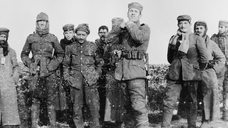Hands reached out across a divide the narrow divide, presents were exchanged, and in Flanders Fields a century ago, a spontaneous Christmas truce briefly lifted the human spirit.