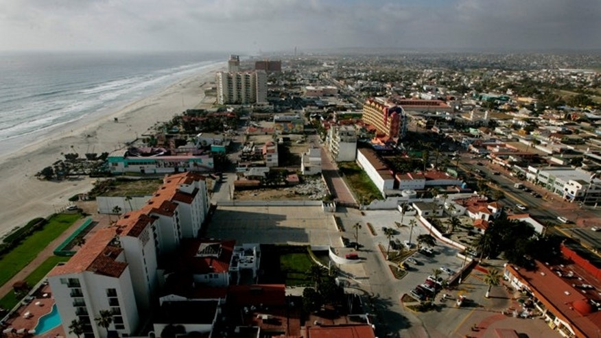 View of April 1, 2009 in Rosarito, Mexico.  (Photo by Sandy Huffaker/Getty Images)