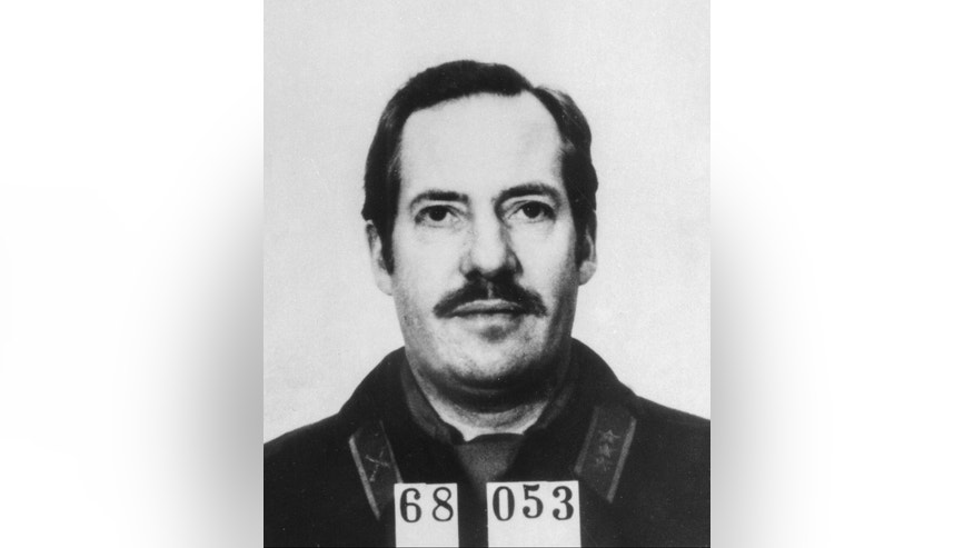 In this undated photo provided by the Swedish Police, Swedish Security Service officer Stig Bergling is pictured. Bergling, a former Swedish security officer who spied for the Soviet Union during the Cold War, has died. He was 77. Bergling's death was first reported Thursday, Jan. 29, 2015 by Swedish newspaper Dagens Nyheter. The Swedish tax authority, which records deaths, confirmed he died on Jan. 24. No cause was given. (AP Photo/TT News Agency, Swedish Police)  SWEDEN OUT