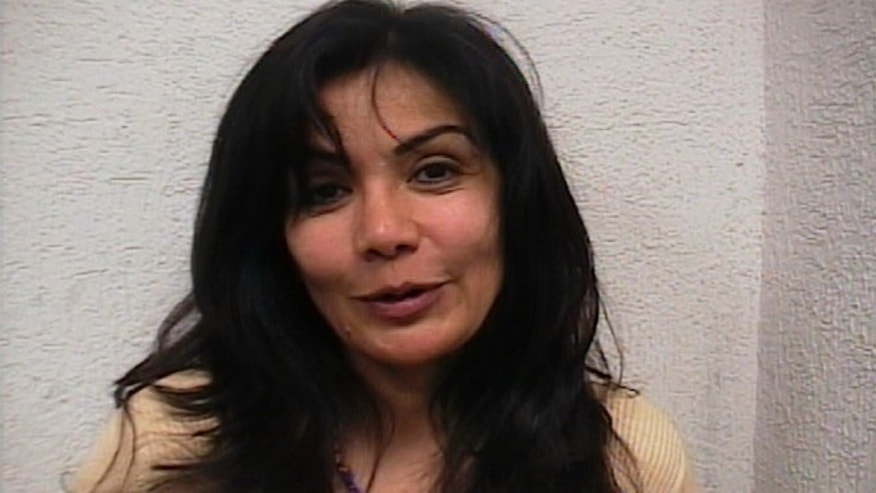 Sandra Avila Beltran, the Queen of the Pacific, after her arrest on Sept. 28, 2007.