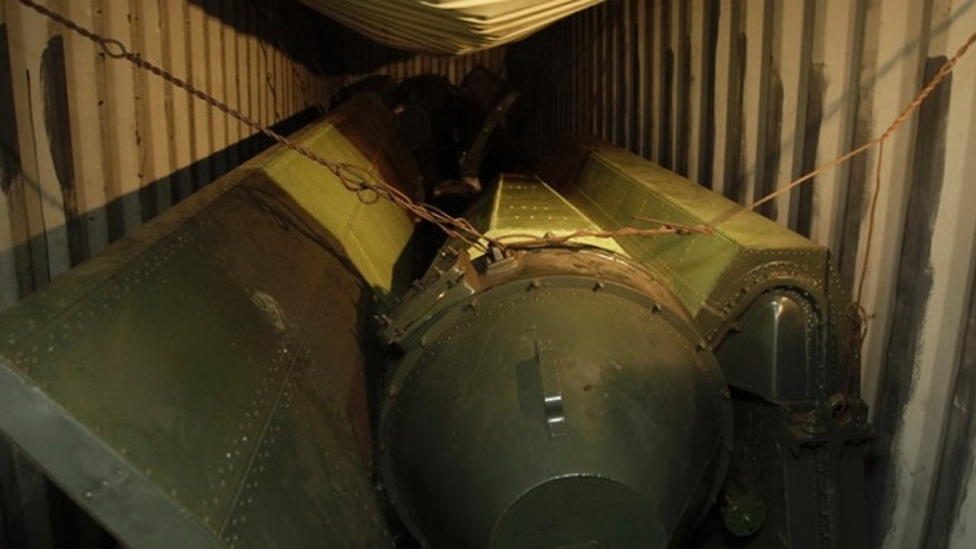 July 16, 2013: Military equipment lays in containers aboard a North Korean-flagged ship at the Manzanillo International container terminal on the coast of Colon City.