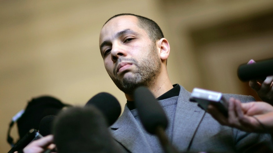 January 31, 2008 - FILE photo of Adil Charkaoui, Six Canada teens missing since January have traveled to the Middle East to fight with Islamic State terrorists, Canadian media reports say. Charkaoui told reporters Friday he didn't radicalize the teens and claimed his school had only brief contact with them.