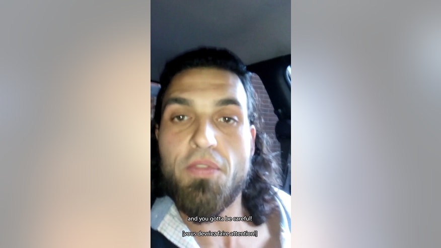 This image provided by the Royal Canadian Mounted Police shows Michael Zehaf-Bibeau appearing in a cellphone video he filmed prior to his Oct. 22, 2014, shooting rampage on Parliament Hill in Ottawa, Ontario. In the video, Zehaf-Bibeau said that he believed Canada had no right to involve its military in Afghanistan. RCMP Commissioner Bob Paulson showed a brief portion of the video during a House of Commons public safety committee meeting. (AP Photo/The Canadian Press)