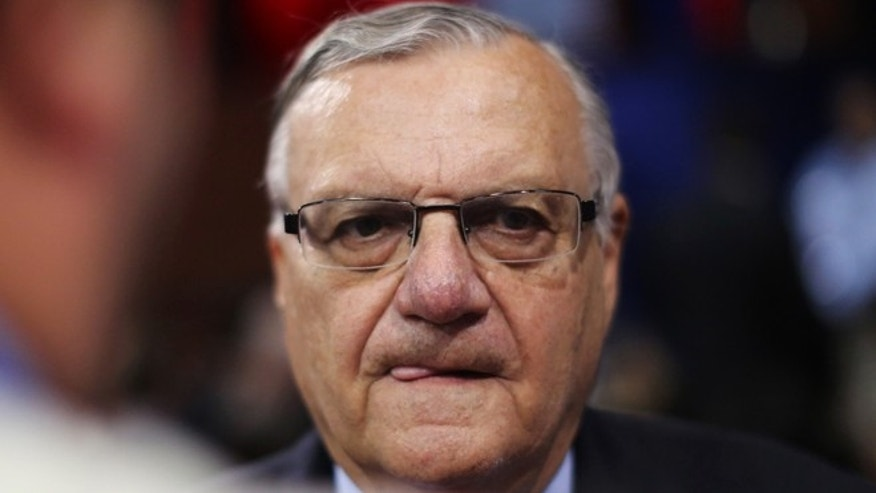 Maricopa County, Arizona Sheriff Joe Arpaio on August 29, 2012 in Tampa, Florida. (Photo by Spencer Platt/Getty Images)
