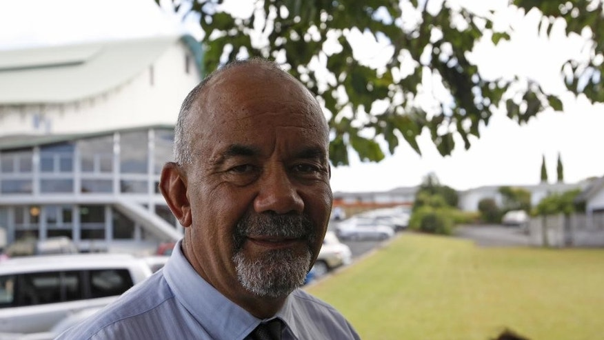 In this Feb. 5, 2015 photo, New Zealand Maori Development Minister Te Ururoa Flavell smiles in Kerikeri, New Zealand. Financial settlements made to Maori tribes under the provisions of the treaty are helping transform them into major economic players and are contributing to a broader cultural renaissance and improved prospects for Maori. (AP Photo/Nick Perry)