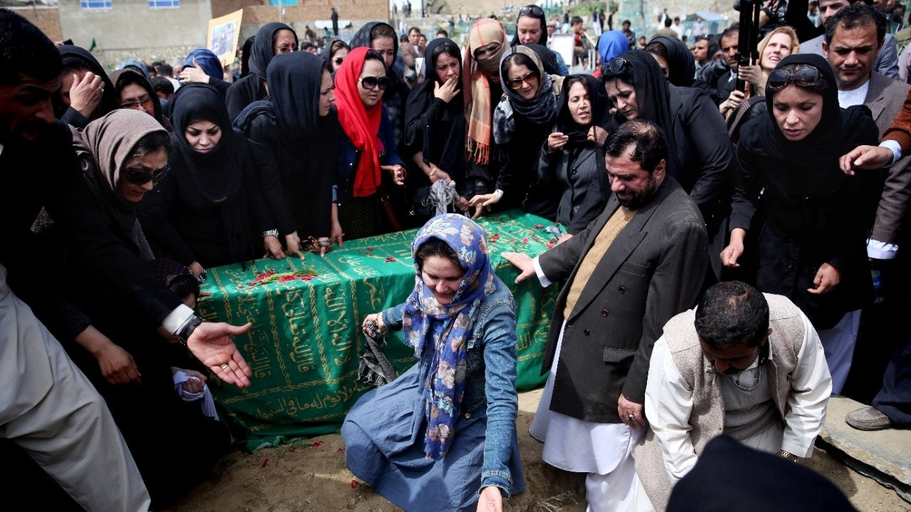 Activists Help Bury Afghan Woman Who Was Beaten To Death