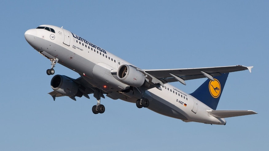 File photo of an Airbus A320 similar to the one that crashed Tuesday over the French Alps.