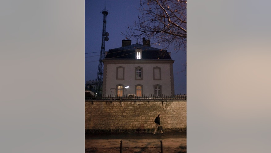 "FILE - This Dec. 22, 2010 file photo, shows a building of France's secretive international spy agency, the DGSE, in Paris France. France's prime minister Manuel Valls called for the introduction in an intelligence bill of an emergency procedure allowing the government to use surveillance powers with no delay in case of exceptional threat. The measure would be used only ""in case of major crisis affecting the citizens' security"", Valls said Monday in a speech at France's lower house of Parliament. (AP Photo/Thibault Camus, File)"