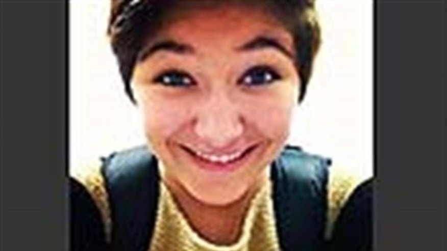 This undated image of Maren Sanchez provided by her family is from Maren Sanchez's Facebook page. A 16-year-old teenager is accused of fatally stabbing 16-year-old Maren Sanchez Friday, April 25, 2014 in the hallway of Jonathan Law High School in Milford. (AP Photo/The Sanchez famly)