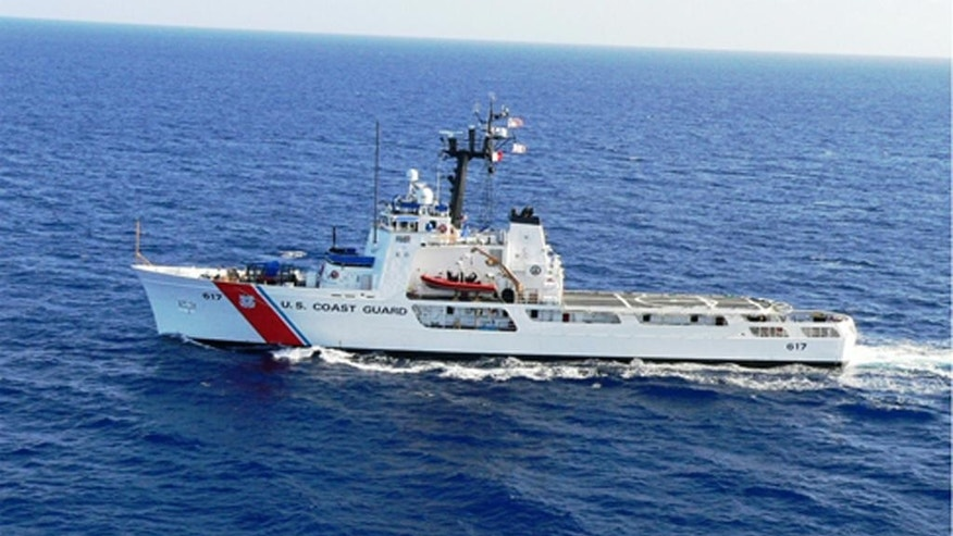 This undated handout photo provided by the US Coast Guard shows US Coast Guard Cutter Vigilant. Thirty-eight Cuban migrants caught trying to sail to the U.S. are stranded aboard a U.S. Coast Guard vessel, waiting for permission from the Cuban government to return home, The Associated Press has learned. The migrants were among about 96 Cubans who were intercepted at sea and taken aboard the Coast Guard Cutter Vigilant. The Cuban government allowed the return of the other 58 people. (Coast Guard via AP)