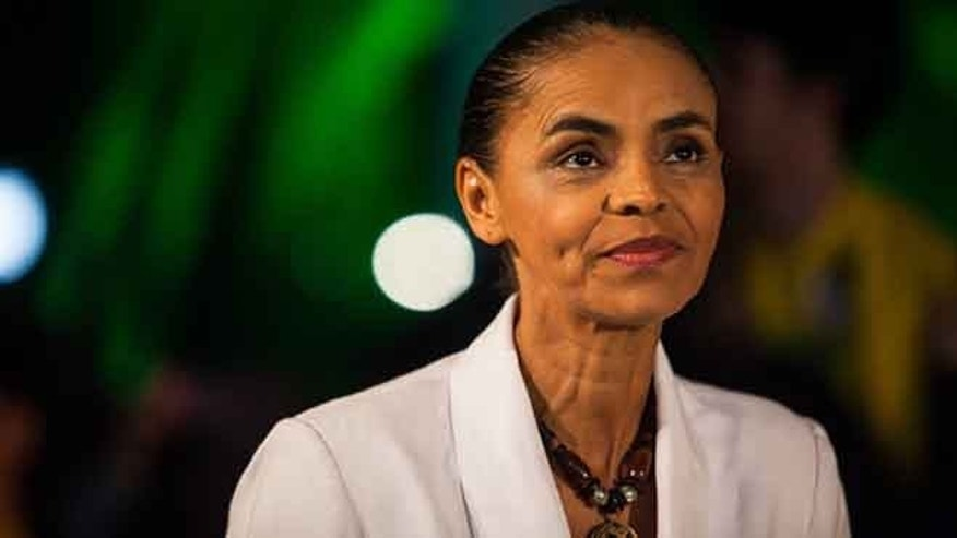 Marina Silva during a press conference at the Brazilian Socialist Party on October 5, 2014 in Sao Paulo, Brazil.