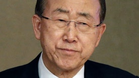 May 20, 2015: U.N. Secretary-General Ban Ki-moon attends the U.N. Academic Impact Seoul Forum in South Korea. Ban said Wednesday that North Korea had withdrawn an invitation to visit a factory park in the country, the last major cooperation project between the rivals.(AP Photo/Ahn Young-joon)