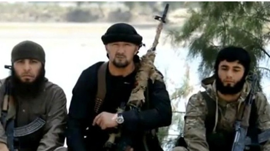 Former Tajik special forces commander Col. Gulmurod Khalimov defected to ISIS, and vowed to strike at the US. (Screegrab)