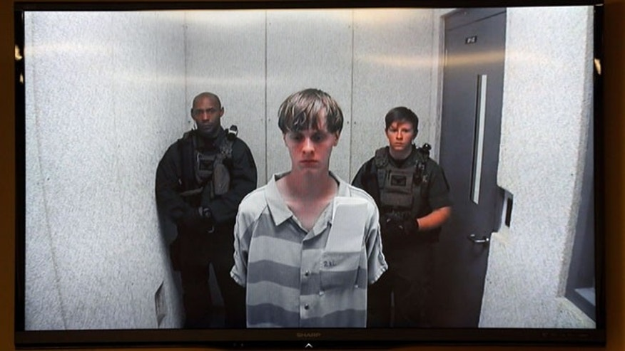 Dylann Roof appears Friday, June 19, 2015, at a bond hearing court in North Charleston, S.C. Roof is charged with nine counts of murder and firearms charges in the shooting deaths Wednesday night at Emanuel African Methodist Episcopal Church in downtown Charleston. (Grace Beahm/The Post And Courier via AP)