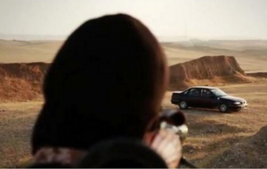 In one scene, accused spies are blown up as they sit locked in a car. (Screengrab courtesy of TRAC)