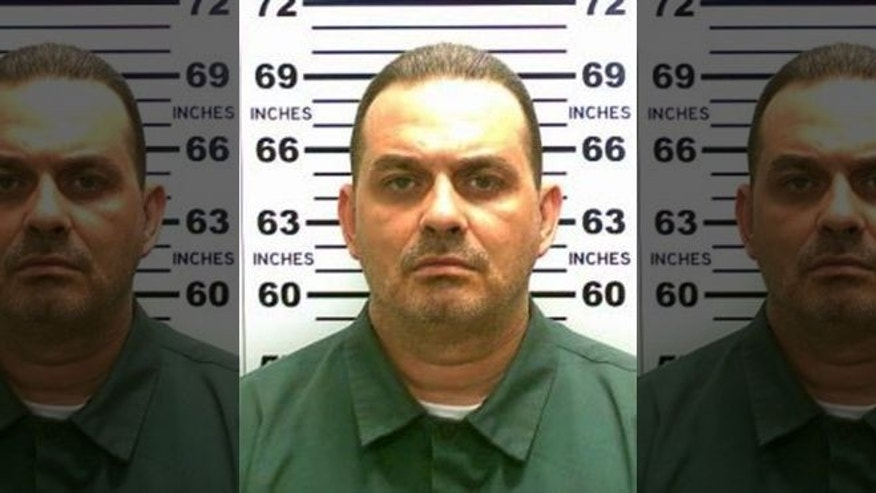 Convicted murderer Richard Matt in a handout photo from New York State Police. (AP/ NY STATE POLICE)