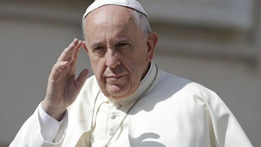 Pope Francis is shown in this AP photo.