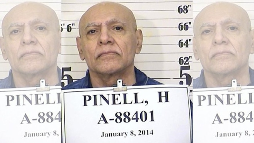 This Jan. 8, 2014 photo from the California Department of Corrections and Rehabilitation shows inmate Hugo Pinell. Pinell, involved in a bloody 1971 San Quentin escape attempt that left six dead, has been killed by a fellow prisoner. The slaying of Pinell triggered a riot Wednesday, Aug. 12, 2015, at a maximum security prison east of Sacramento. (California Department of Corrections and Rehabilitation via AP)