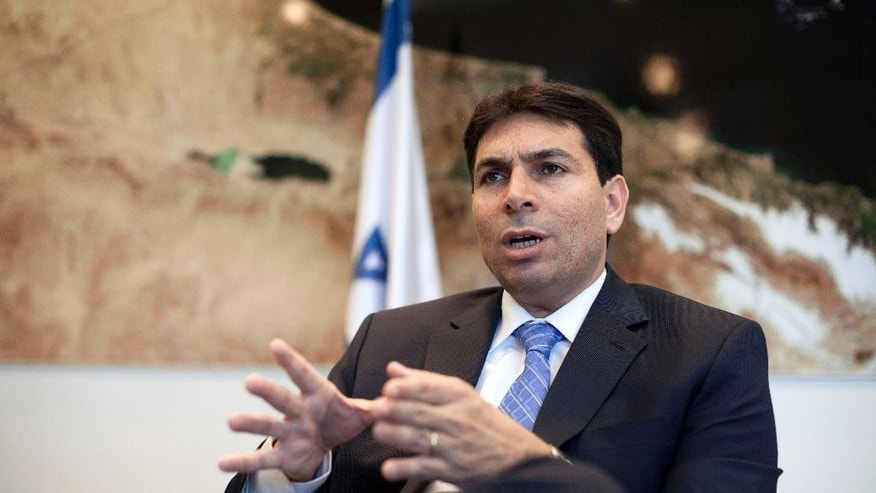 Danny Danon in 2013. (AP Photo/Dan Balilty, File)