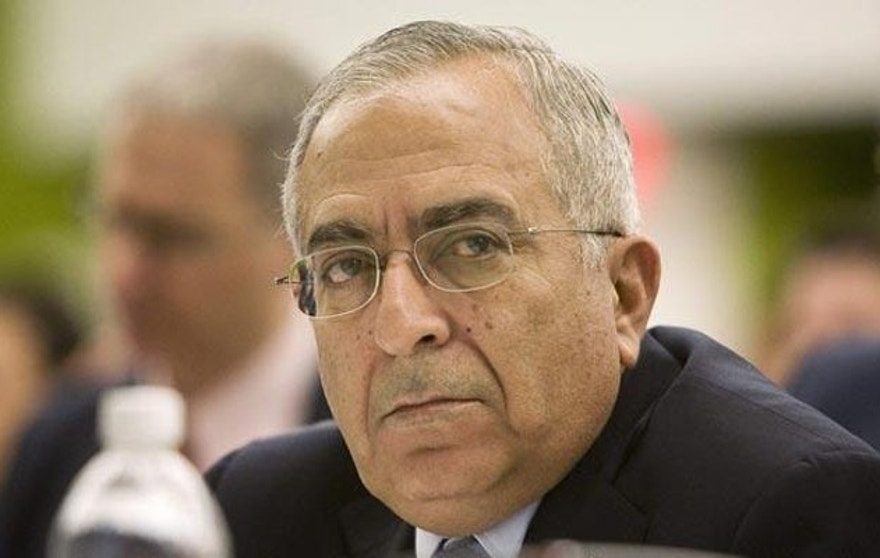 Former PA Prime Minister Salam Fayyad has tried to aid Palestinians, but the knock on him with voters appears to be that he is not confrontational enough with Israel. (Reuters)