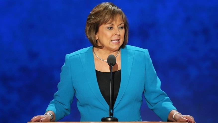 New Mexico Gov. Susana Martinez on August 29, 2012 in Tampa, Florida.