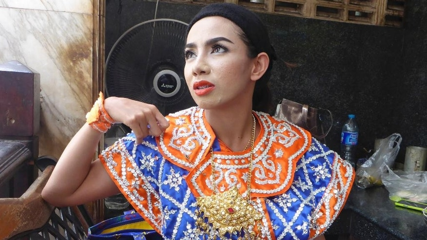 "In this Aug. 28, 2015, photo, Vithita Singharat, a Thai classical dancer who performs at the Erawan Shrine -- the site of the bombing two weeks ago -- is interviewed by the Associated Press in Bangkok, Thailand. ""I don't know when I'm going to die. I don't know if this will happen again,"" said Vithita. ""But I have to come to work and do my job.""On the surface, the bustling city of food vendors, traffic jams and raucous nightlife is back to normal, two weeks after the Erawan Shrine bombing. But many feel a new and gnawing sense of fear and insecurity. (AP Photo/Jocelyn Gecker)"