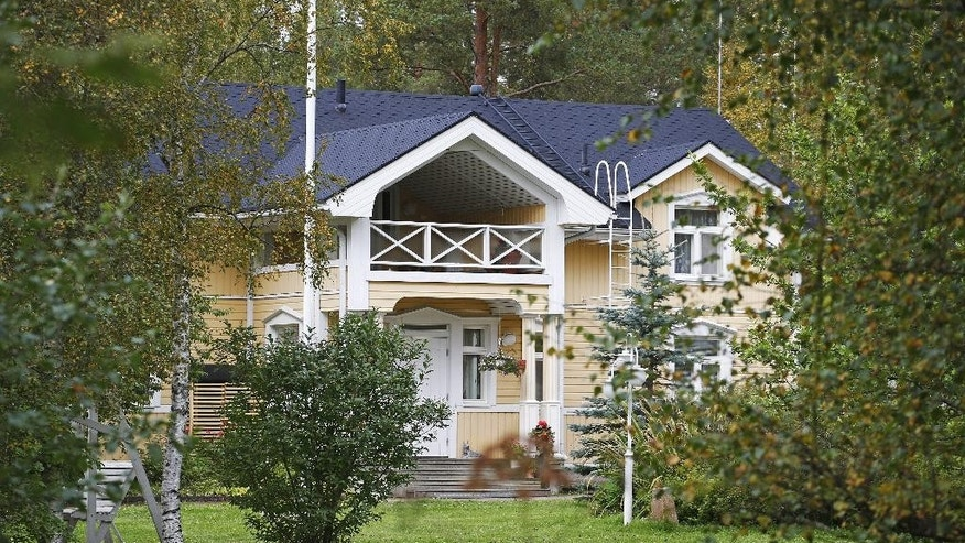 A view of Prime Minister of Finland Juha Sipila's house in Kempele, Finland, Saturday, Sept. 5, 2015. Amid Europe's migrant crisis, Finnish Prime Minister Juha Sipila is hoping to set an example for his countrymen by opening his own spare house to refugees. Sipila said Saturday, Sept. 5, 2015 that after some discussions and consultation with local authorities, he and his wife decided to make their house in Kempele, a town of about 17,000 in central Finland, available as of Jan. 1. The Sipilas have not used the house since moving to Helsinki. (Timo Heikkala/Lehtikuva via AP)     FINLAND OUT