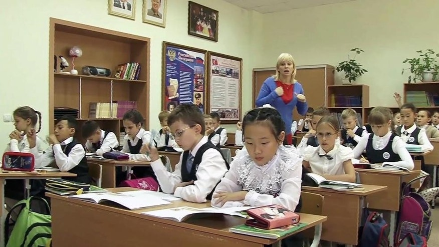 Excellent idea. Classroom and the real russian