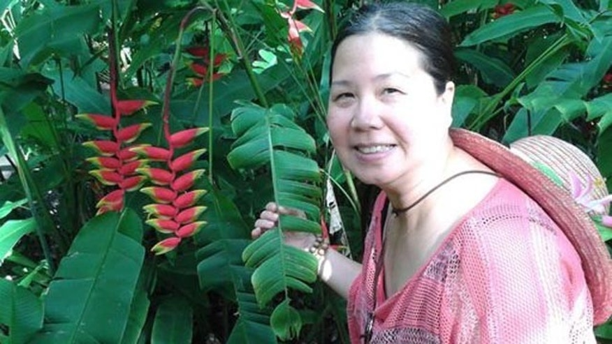 This undated photo provided to media by Jeff Gillis shows his wife, Sandy Phan-Gillis, who has been arrested in China on charges of spying and stealing state secrets. (Jeff Gillis)