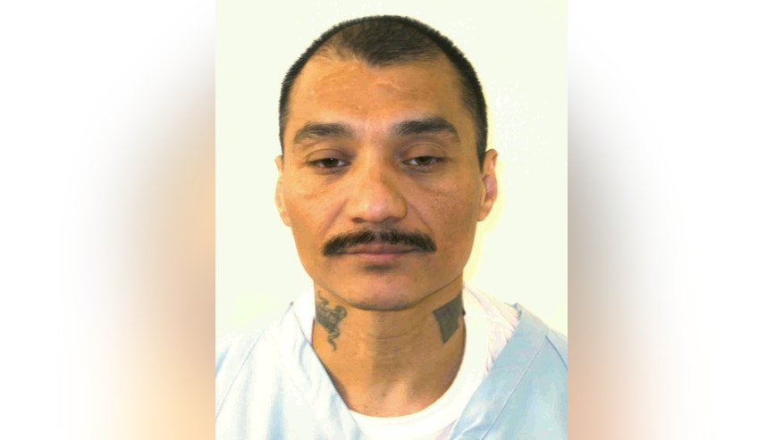 This undated photo provided by the Virginia Department of Corrections shows inmate Alfredo Prieto.(Virginia Department of Corrections via AP)