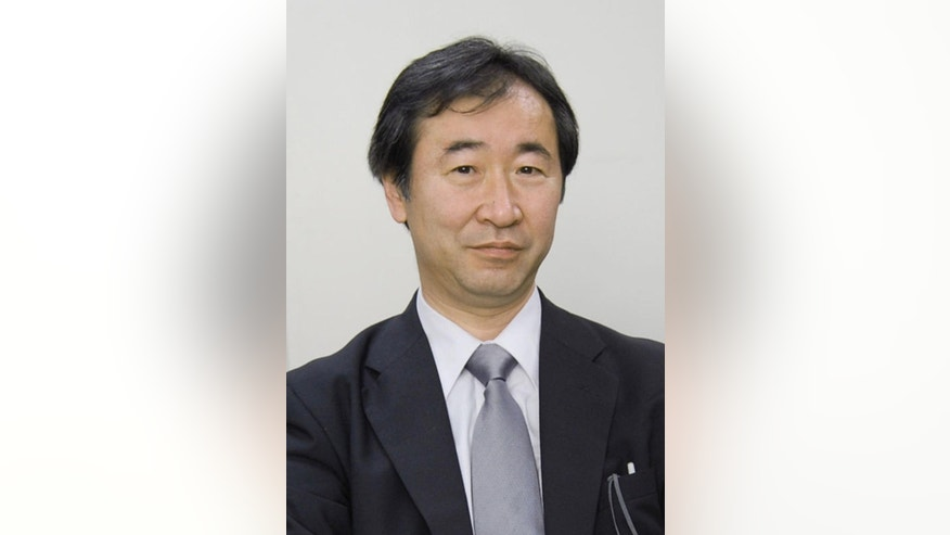 This April, 2010 photo shows Takaaki Kajita of Japan, director of the Institute for Cosmic Ray Research and professor at the University of Tokyo.  Kajita and Arthur McDonald of Canada won the Nobel Prize in physics on Tuesday, Oct. 6, 2015,  for the discovery of neutrino oscillations.(Kyodo News via AP) JAPAN OUT, CREDIT MANDATORY