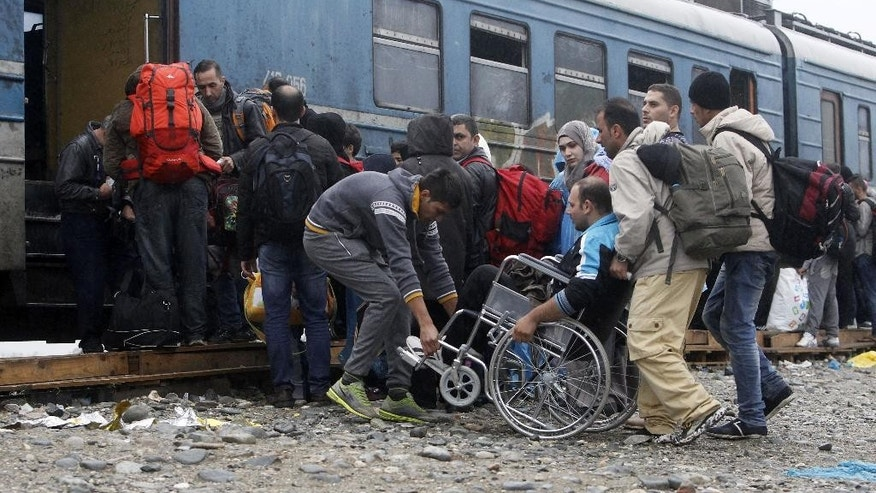 The Latest: Romanian president says refugee crisis could ...