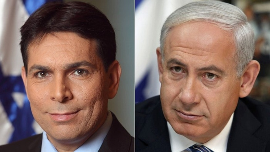 New Israeli UN ambassador Danny Danon, (l.), vows not to be silent in the post to which Prime Minister Benjamin Netanyahu, (R.), appointed him.