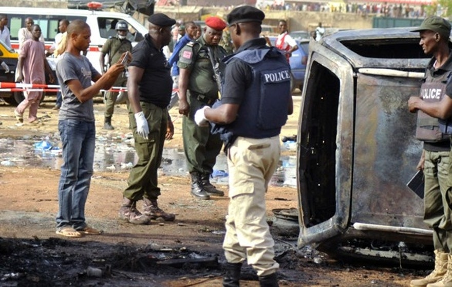 A young girl carried out a February suicide bombing of a bus station in the northern Nigerian city of Kano. (Reuters)