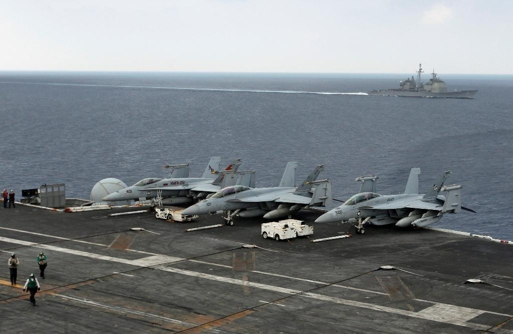 India, US and Japan hold naval exercises under China's gaze